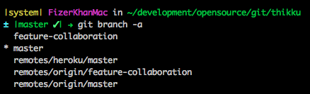 Clean up your local branches after merge and delete in GitHub